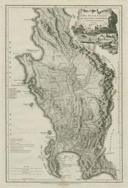 The Dutch colony of the Cape of Good Hope. South Africa