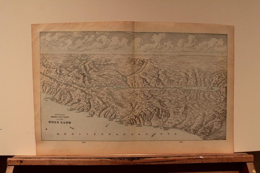 1896 Historical View of the Holy Land