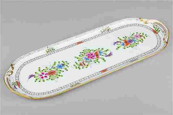 Herend Waldstein Multicolor Long Serving Tray #435/WMC