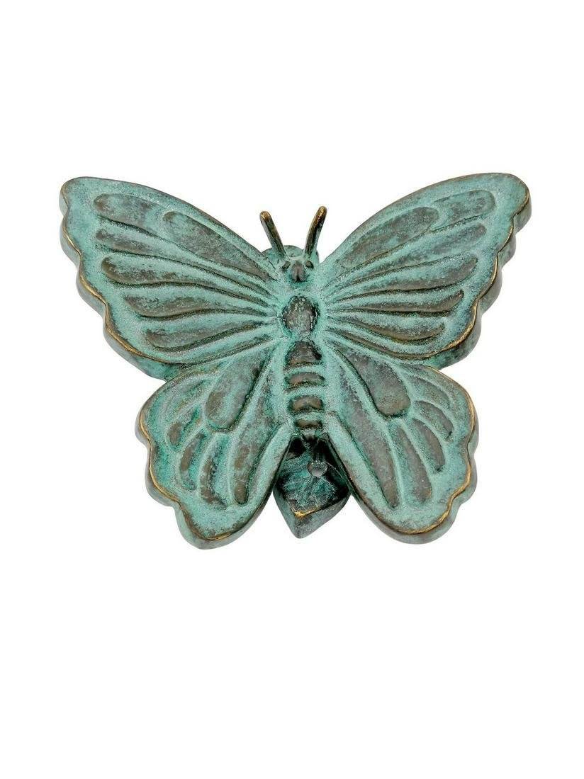 Bronze  Butterfly - door knocker - door hanger
