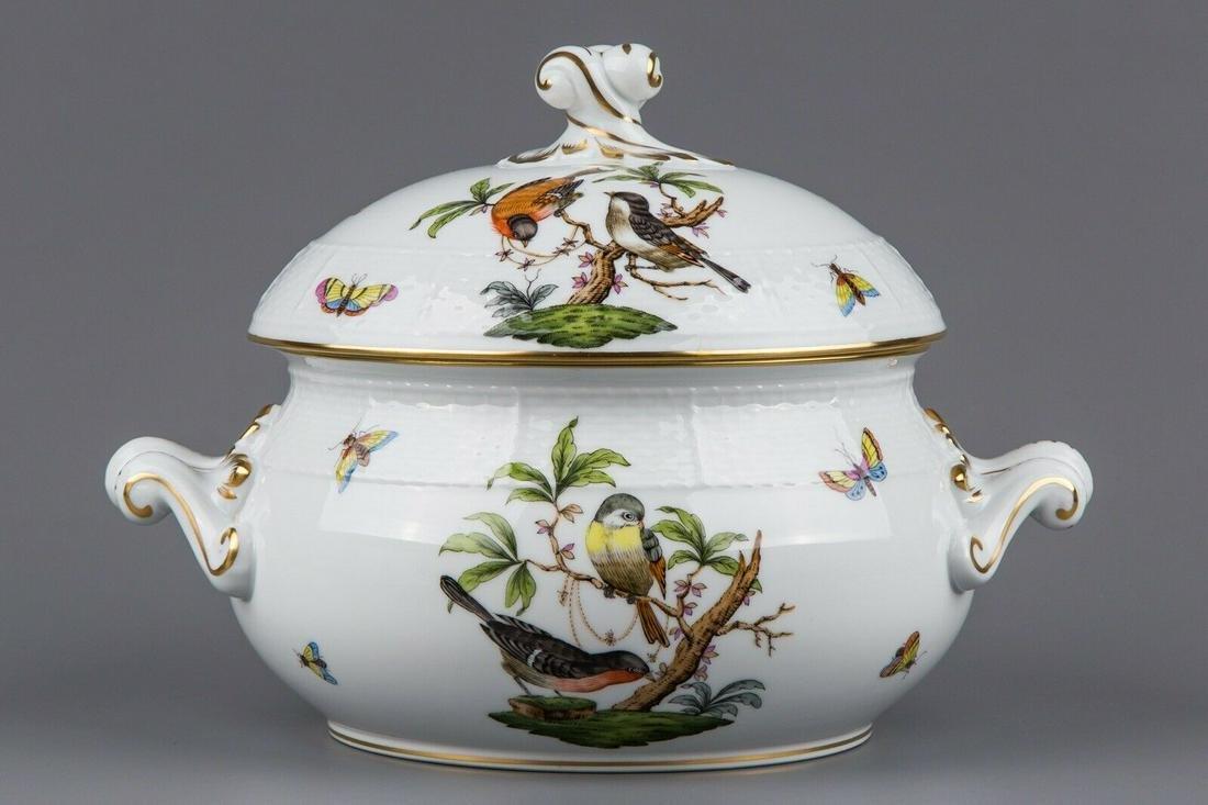 Herend Rothschild Bird Soup Tureen #28/RO