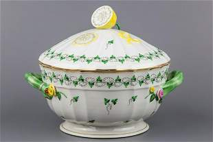 Herend Persil Pattern Soup Tureen with Lemon Knob