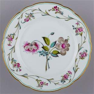 Herend Antique Floral Pattern Plate from 1910 III.