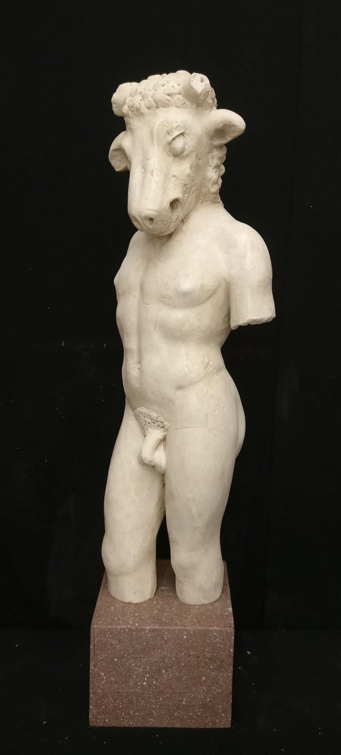 Spectaculure sculpture - Minotaur - Thassos Greek