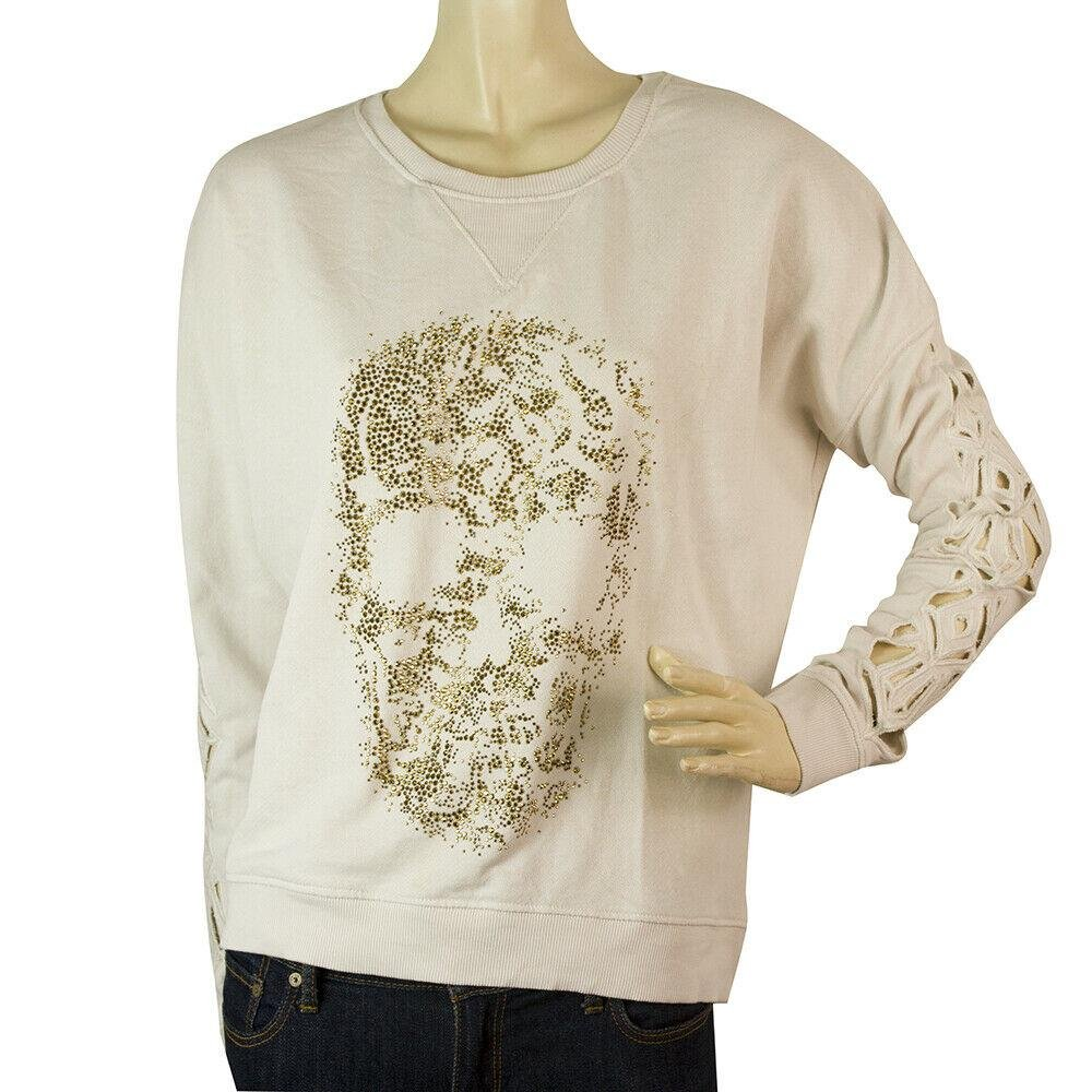 Zadig & Voltaire Sunny Cotton laser cut long sleeve