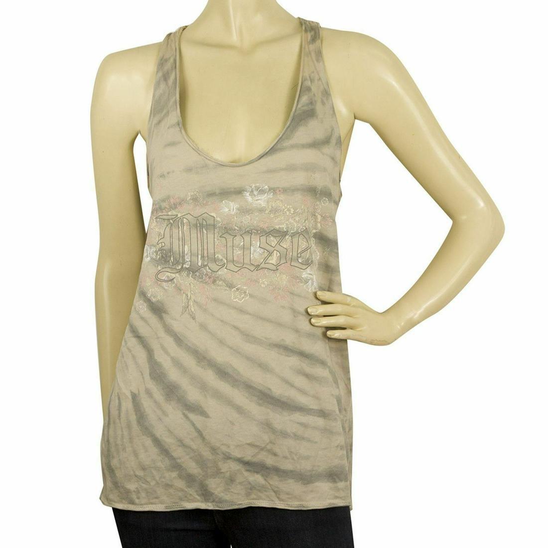 Zadig & Voltaire Alda Print Tie & Dye Sleeveless Tank