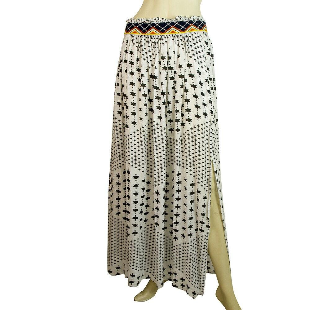 Cleo Gatzeli Black & White Stars Maxi Long Beach Cover