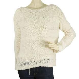 Zadig Voltaire Deluxa line Cream Long sleeve knit
