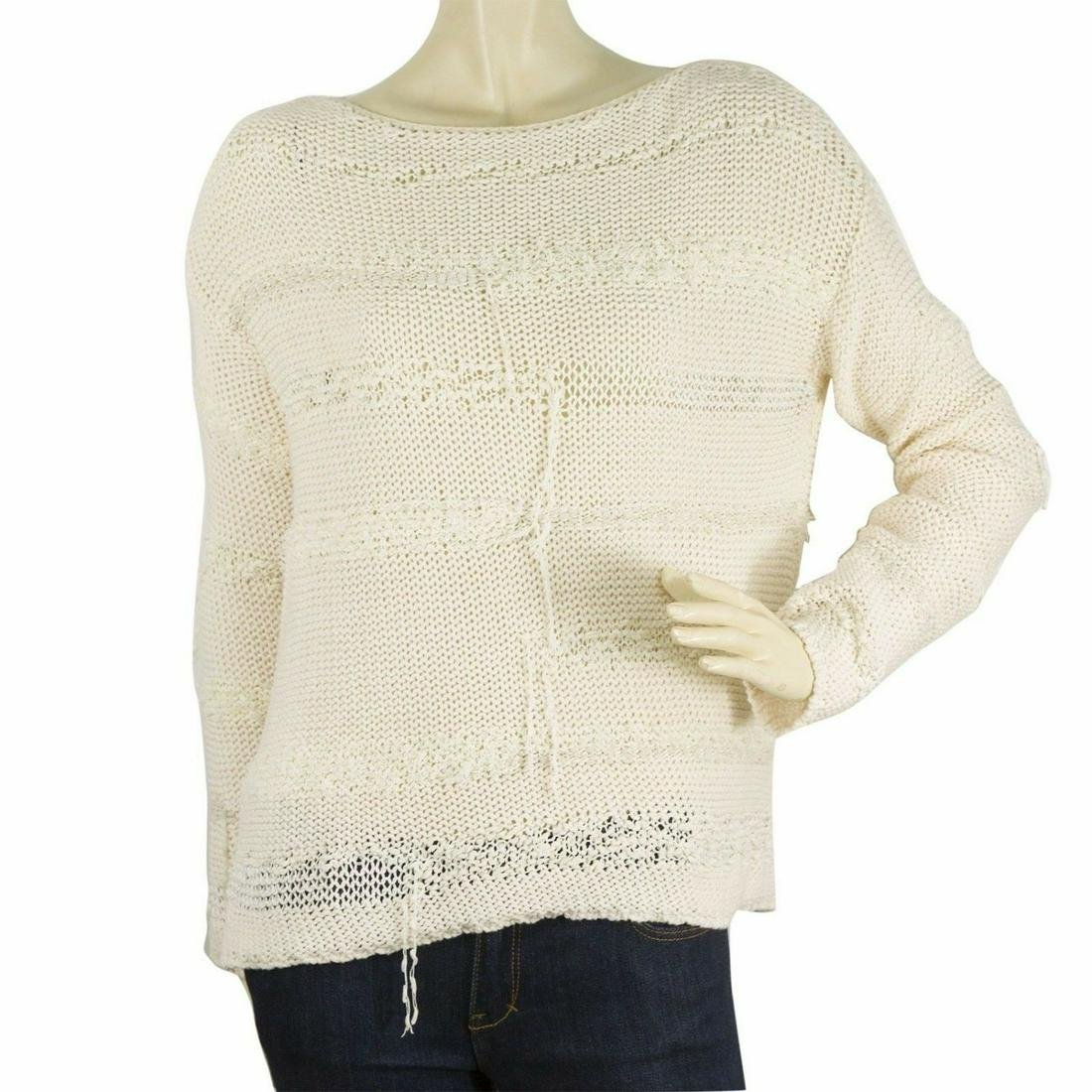 Zadig & Voltaire Deluxa line Cream Long sleeve knit