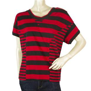 Y3 Adidas Yohji Yamamoto Black Red Stripes Hooded
