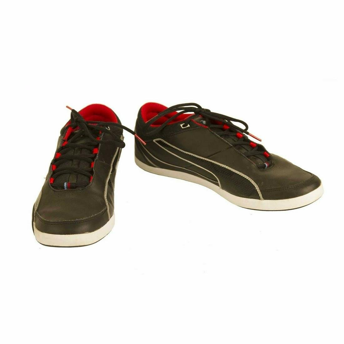 Puma BMW M series Black leather Shoes Sneakers Trainers