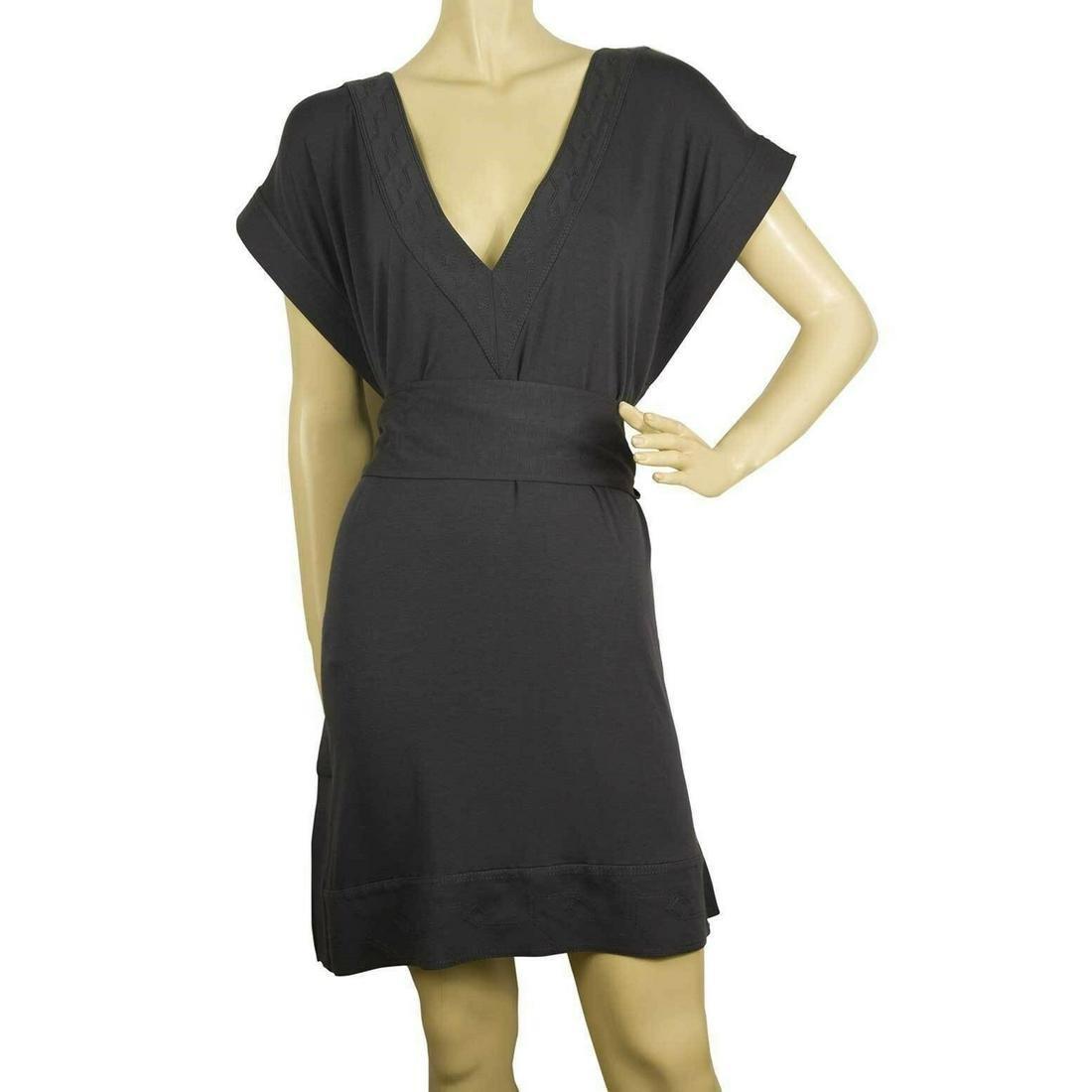 DVF Diane Von Furstenberg New Tasha Gray Belted Tunic