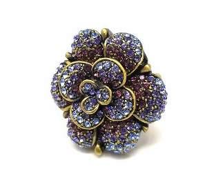Heidi Daus Rose Garden Swarovski Crystal Ring