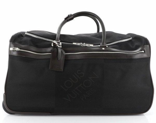 Louis Vuitton Eole Geant Rolling Suitcase Black Coated