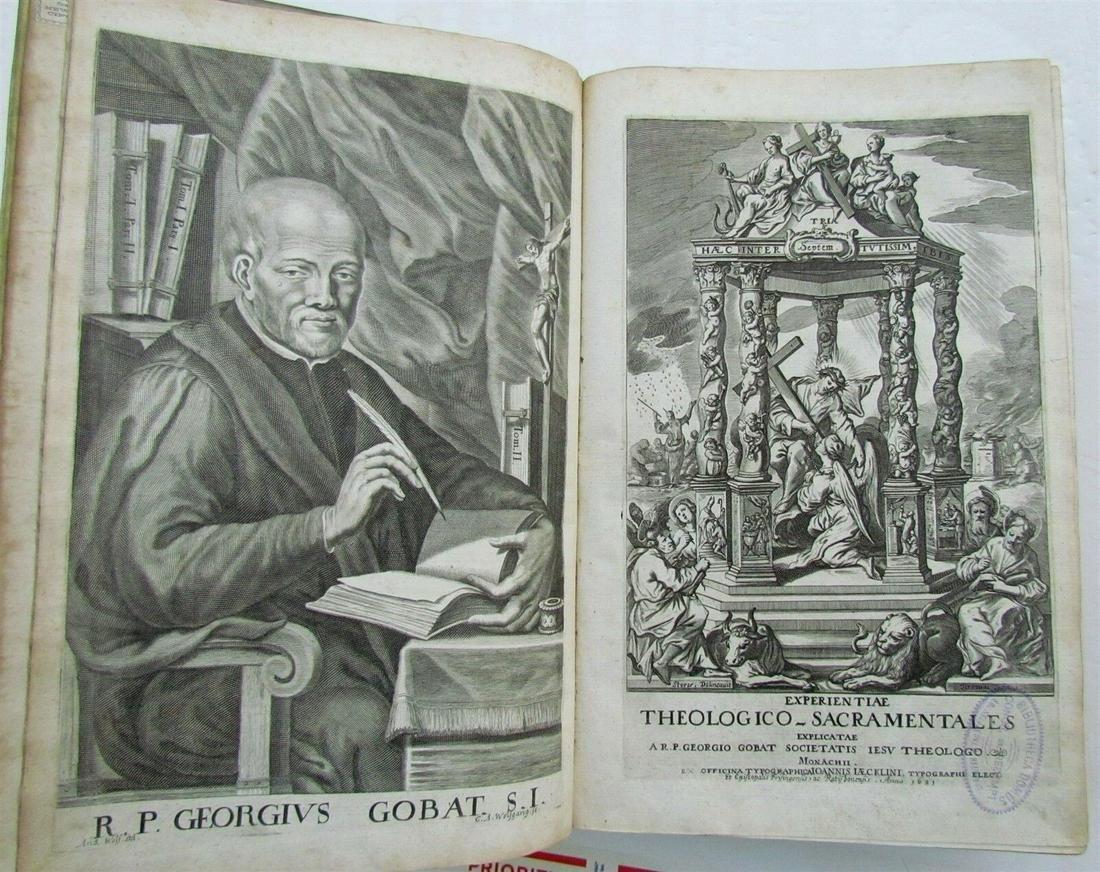 1681 ANTIQUE VELLUM FOLIO EXPERIENTIARUM THEOLOGICARUM