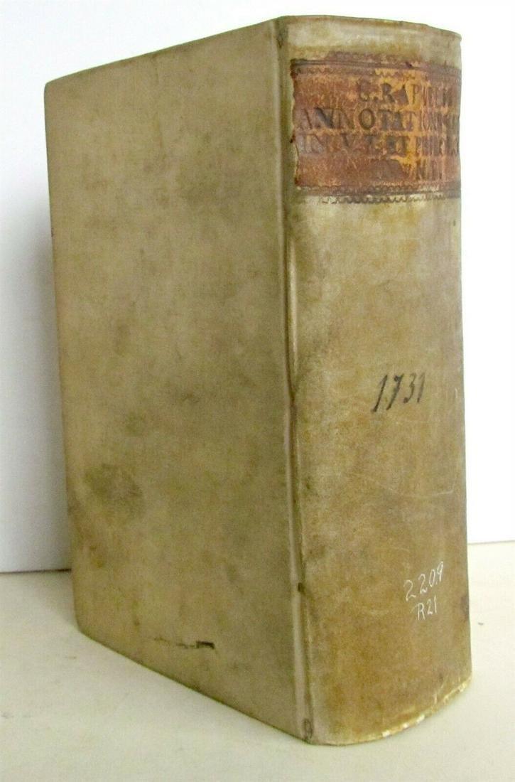 1731 ANNOTATIONES in SACRAM SCRIPTURAM ex HERODOTO