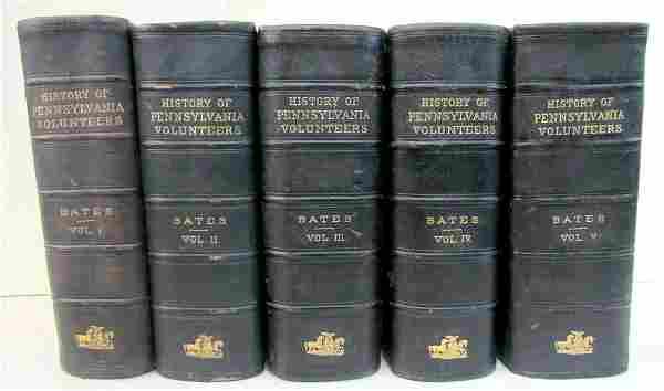 HISTORY OF PENNSYLVANIA VOLUNTEERS 1861-5 COMPLETE 5