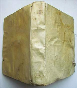 1771 VELLUM BOUND SPICILEGIUM CATECHETICO