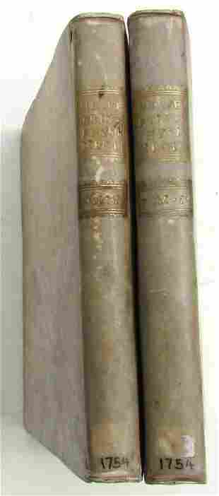 1754 2 vol PRINCIPIA PHYSIOMEDICA Jean Claude