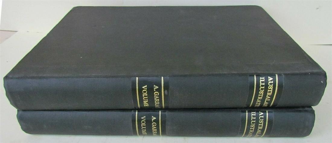 1892 AUSTRALASIA ILLUSTRATED 2 FOLIO VOLUMES FULLY