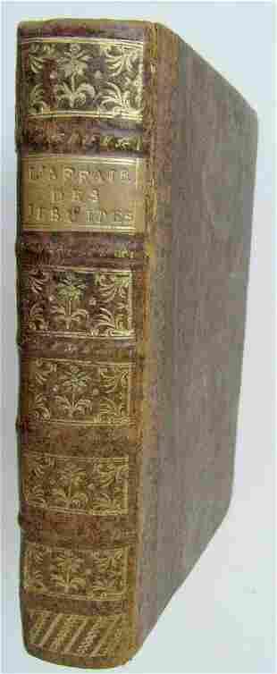 1762 APPEL A LA RAISON BRUSSELS antique JESUITS OF