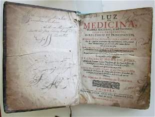1727 MEDICAL BOOK LUZ DA MEDICINA PRATICA RACIONAL E