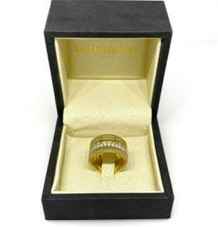 "Boucheron ""Quatre"" Classic Wide Band Ring in 18K Yellow"