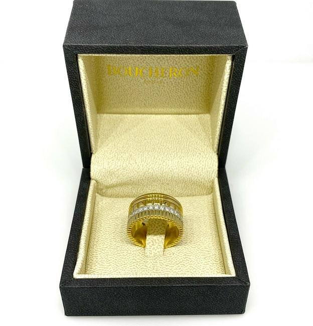"Boucheron ""Quatre"" Classic Wide Band Ring in 18K Yellow"