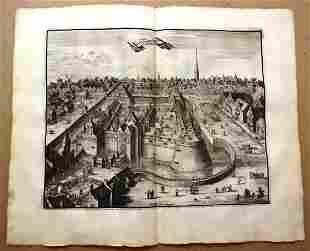 18th C Engraving of Utrecht