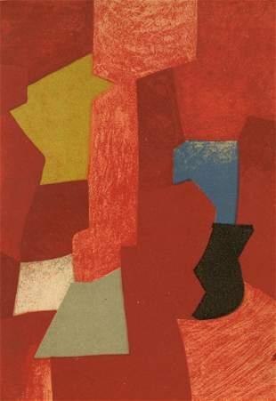 Serge Poliakoff lithograph