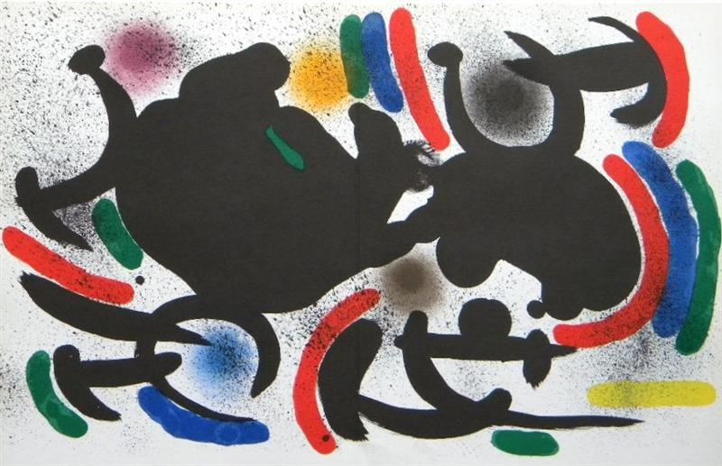 "Joan Miro ""Original Lithograph VII"" 1972"