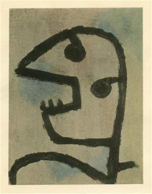 "Paul Klee pochoir ""Hungergespenst"""