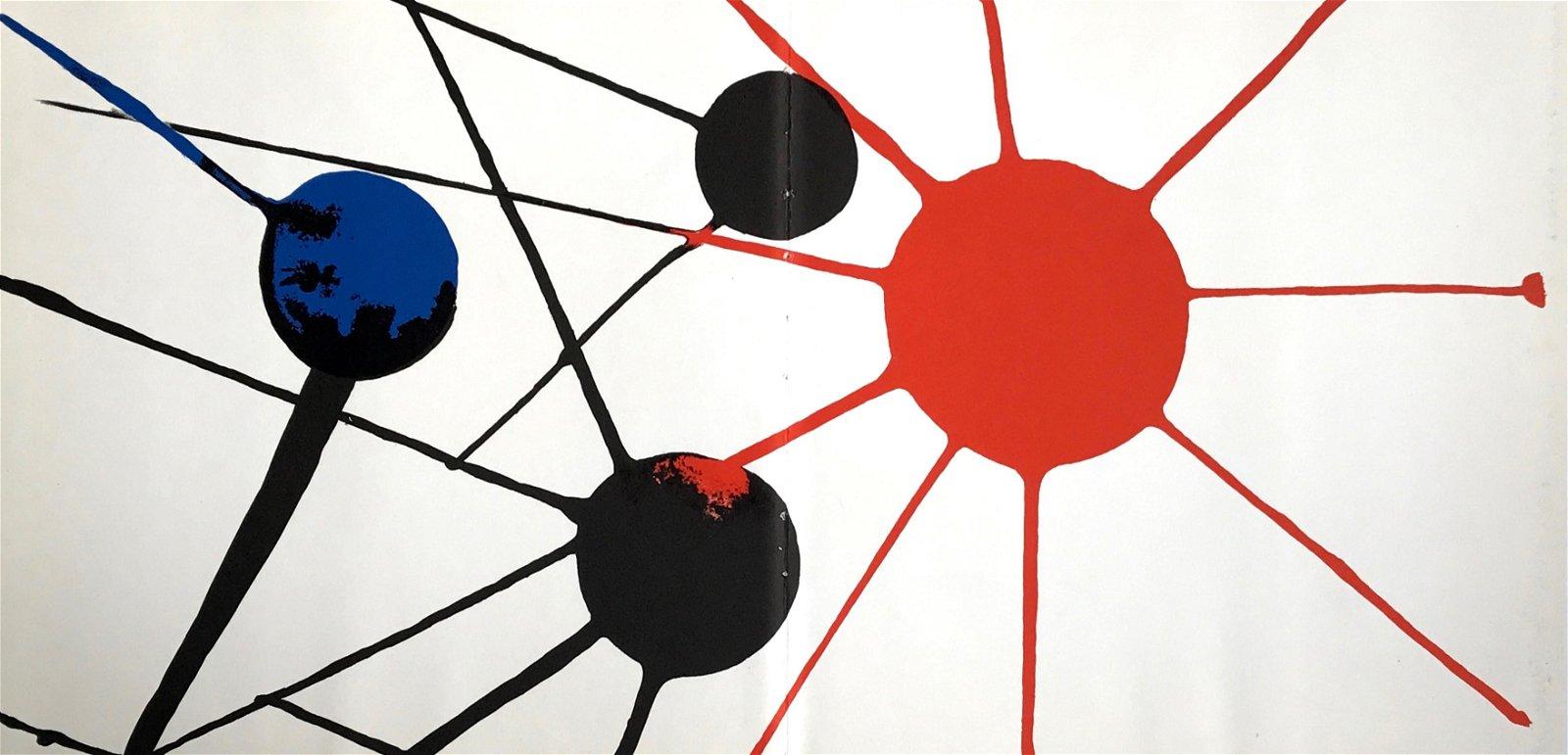 Alexander Calder original lithograph, 1972