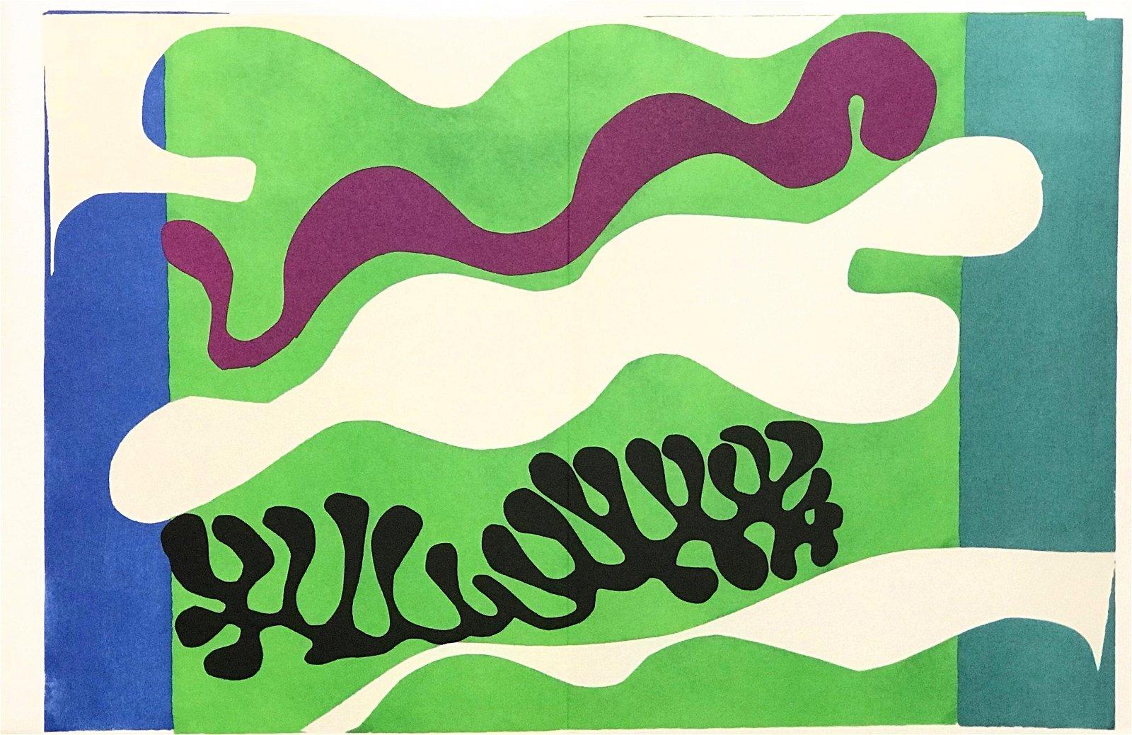 "Henri Matisse ""Lagoon"" from Jazz"