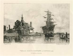 Johan Barthold Jongkind Vieille Porte dentree a