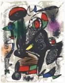 "Joan Miro ""Original Lithograph III"" 1981"