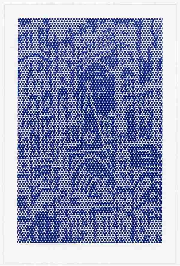 """Roy Lichtenstein """"Cathedral #3"""" lithograph 1969"""