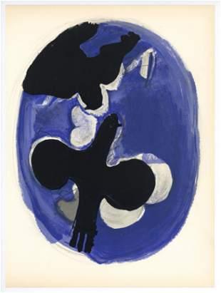 Georges Braque lithograph | Oiseaux