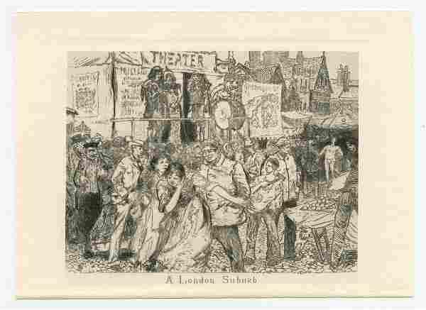 Robert Frederick Blum A London Suburb original