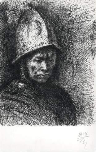 Pablo Picasso lithograph | Carnet Californie