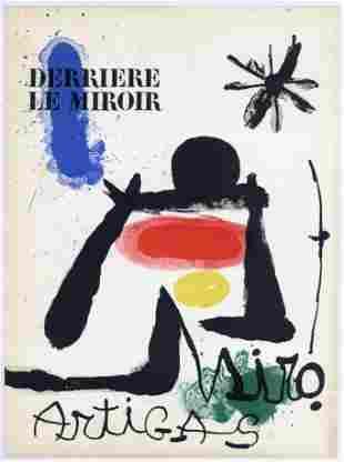 Joan Miro original lithograph, 1963