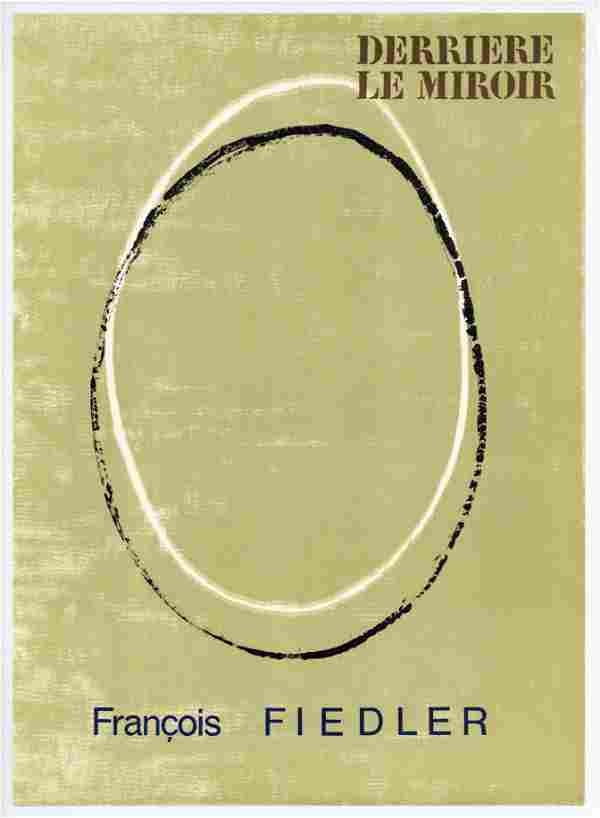 Francois Fiedler original lithograph, 1967