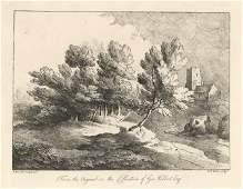 Thomas Gainsborough softground etching 1819