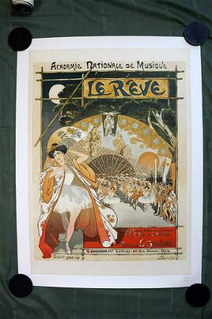 Academie Nationale De Musique - Le Reve (France, 1890)