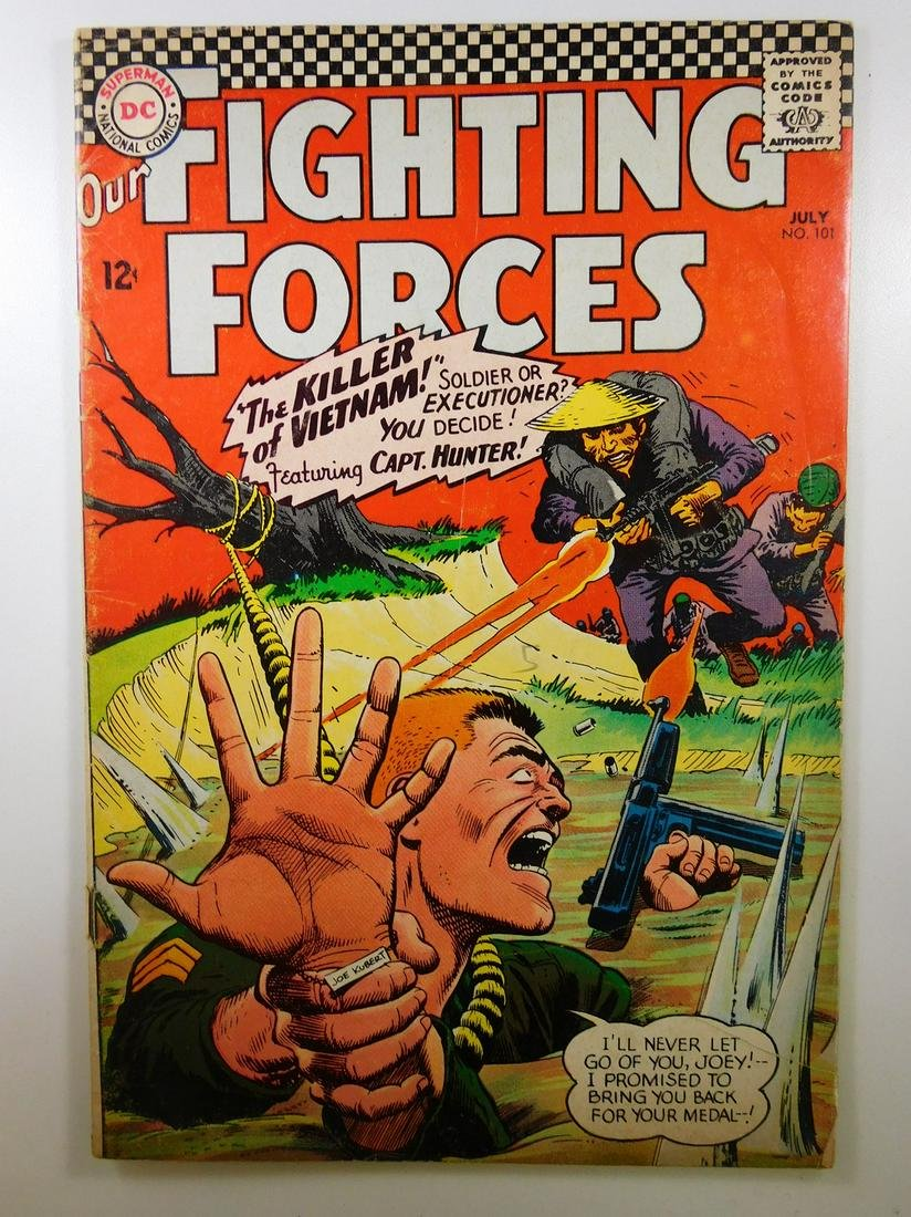 Our Fighting Forces #101