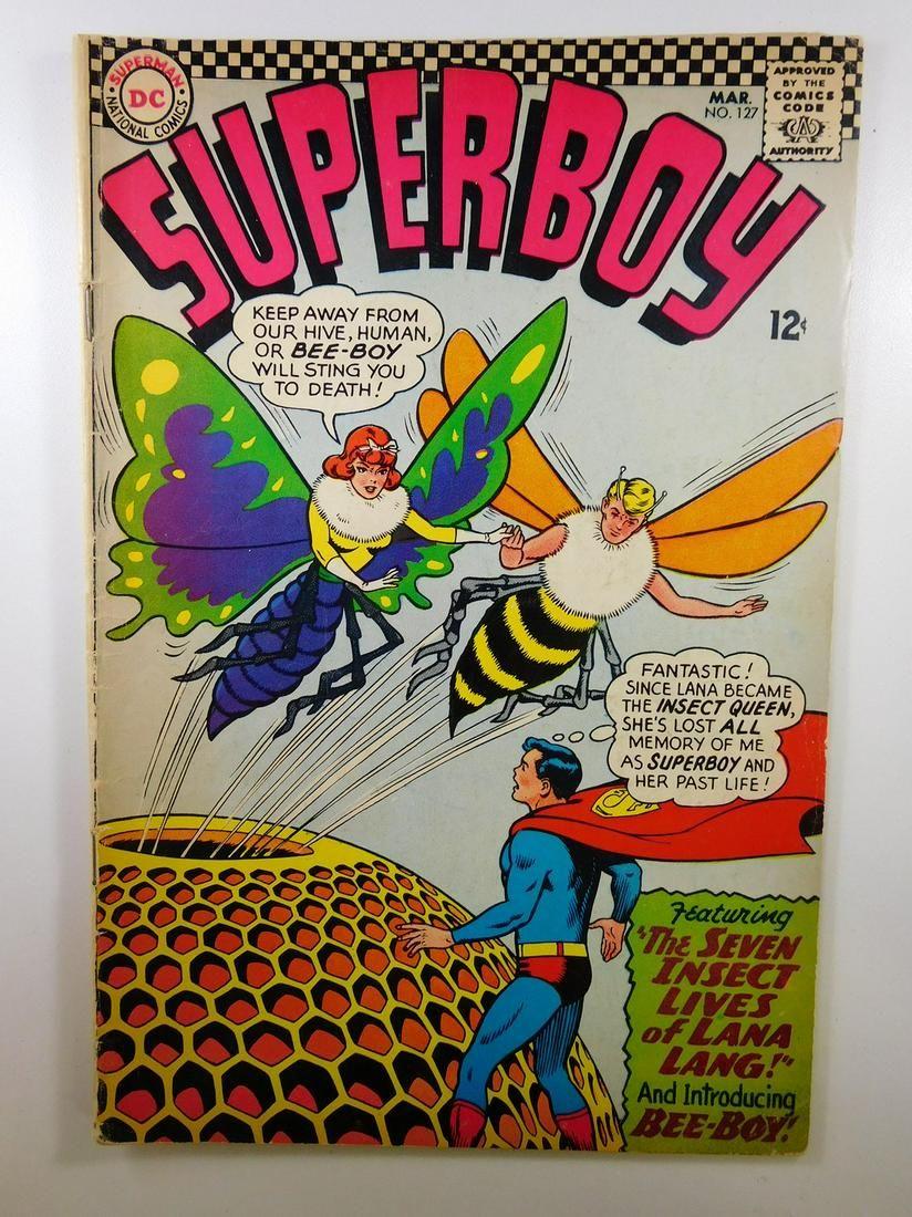 Superboy #127