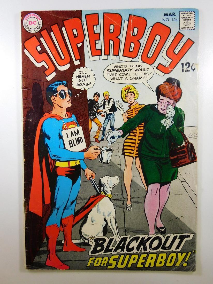 Superboy #154