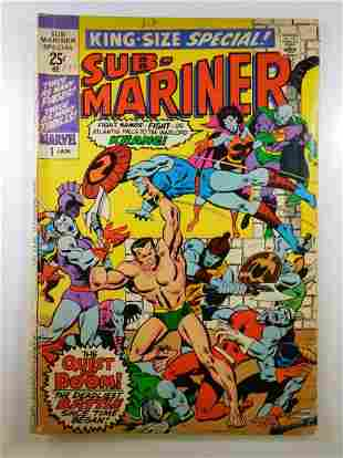 Sub-Mariner King-Size Special #1
