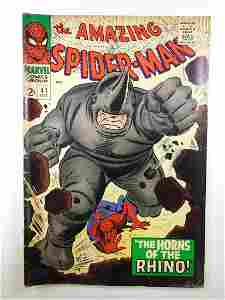 Amazing Spider-Man #41 1st appearance of Rhino