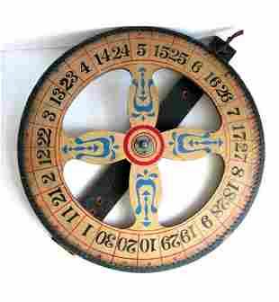 Painted Game Wheel